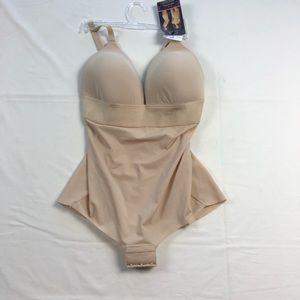 Maidenform | Nude Firm Control Shapewear 34D
